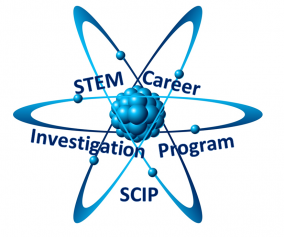 Stem career investigation program Logo