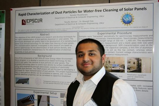 Ronobir Mookherjee poster session