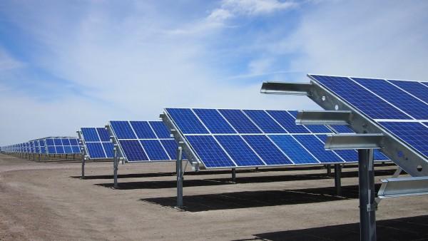 NSF-EPSCoR solar panels