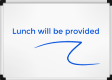Lunch will be provided