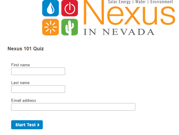 Nexus in Nevada 101 quiz