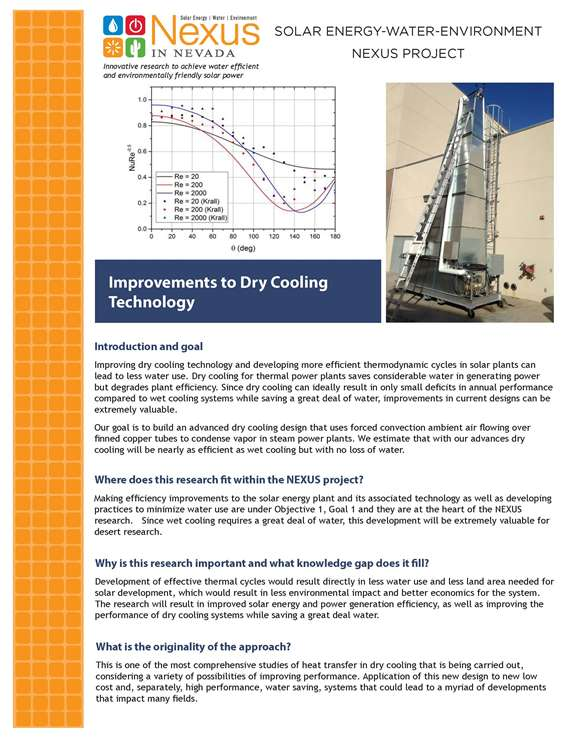 Improvements to Dry Cooling Technology Handout