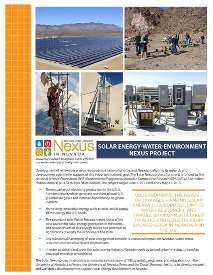 Solar Nexus Flyer 2016