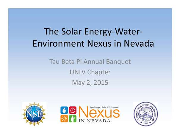 Tau Beta Pi Annual Banquet-UNLV Chapter by Jacimaria Batista 5-2-16