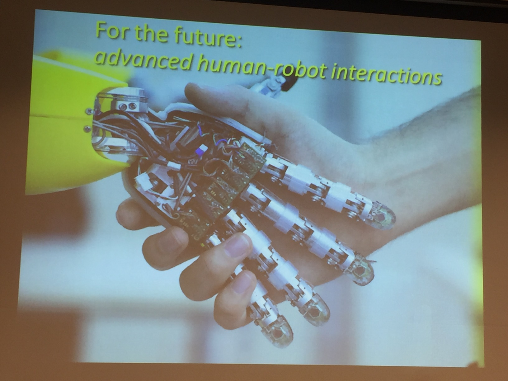 Human Robot Interactions presentation