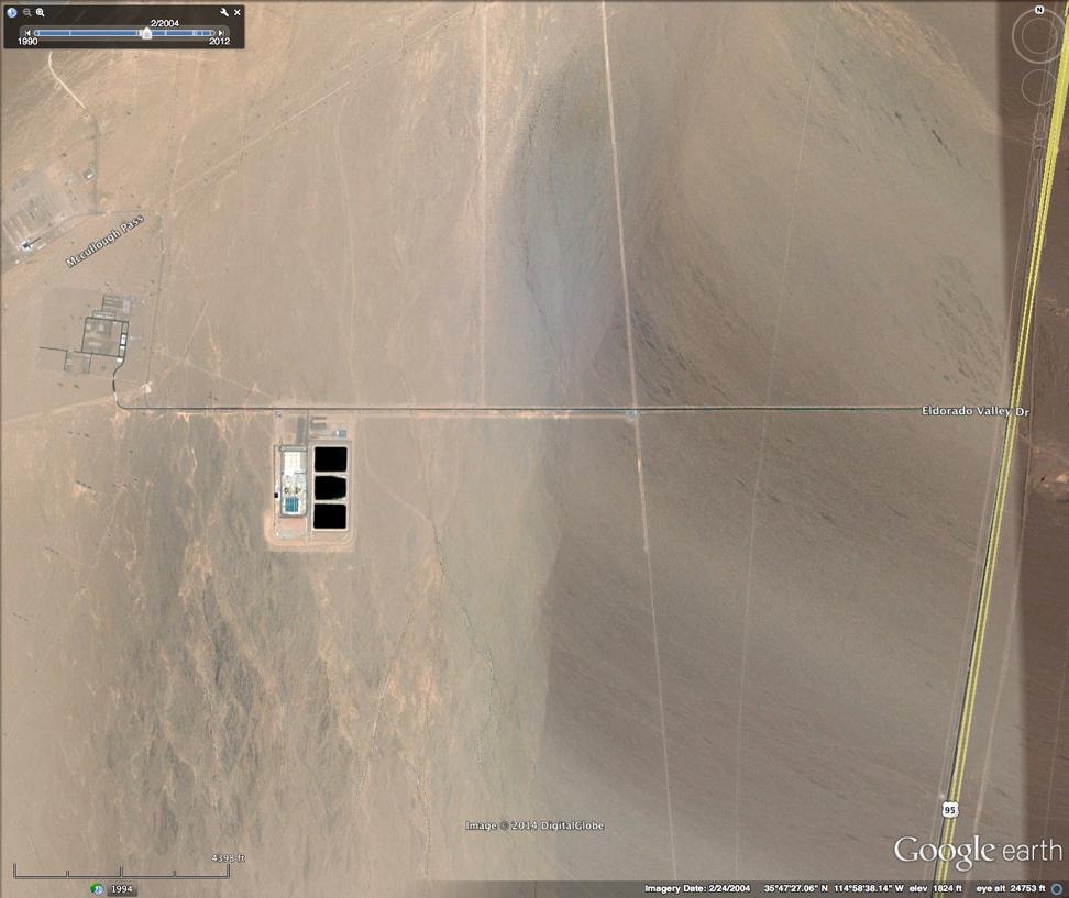 Nevada Solar One Site 2004