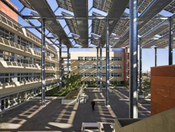Solar panels at UNLV