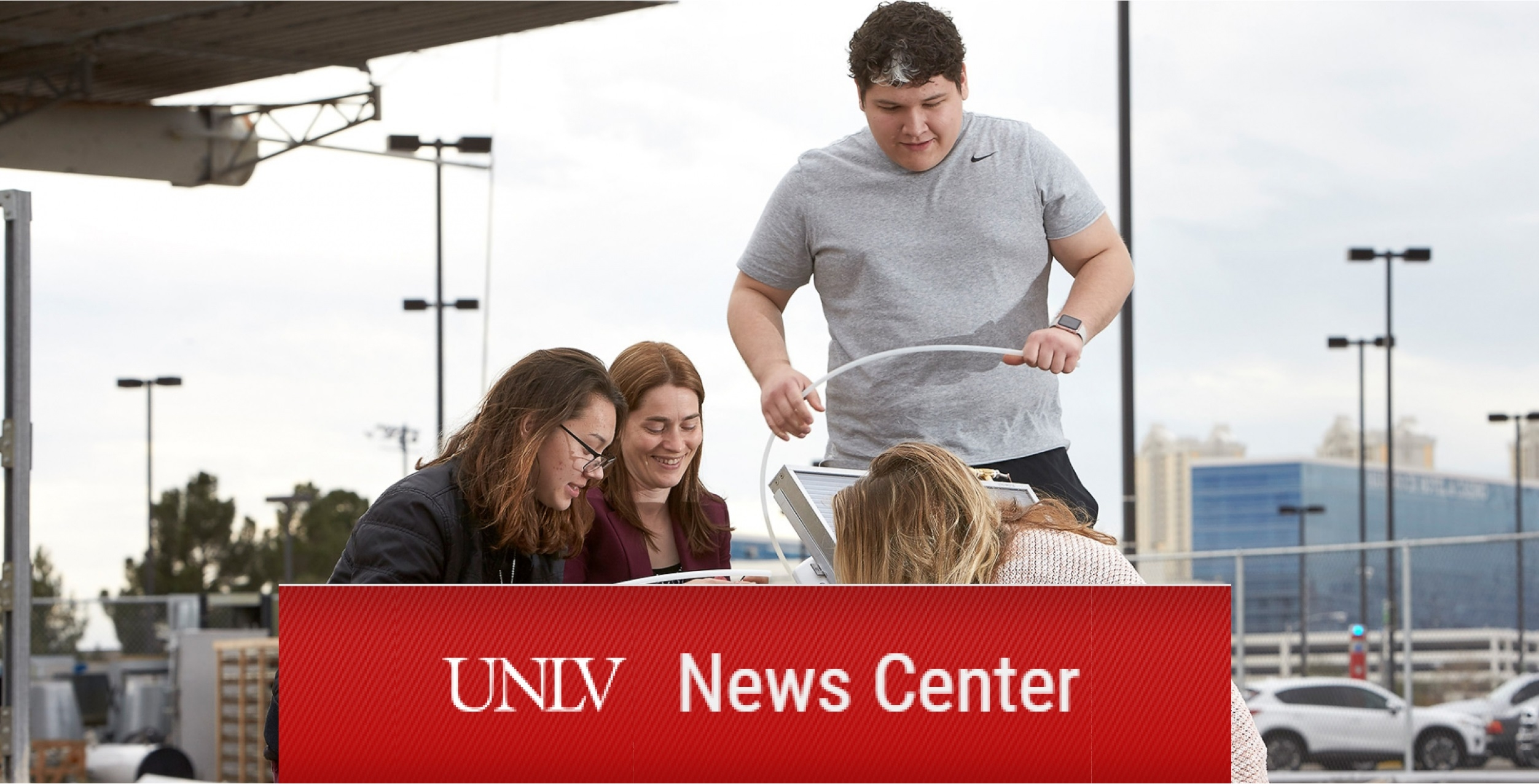 UNLV News Center: Shining a Light on Solar Technology (and Future Careers)