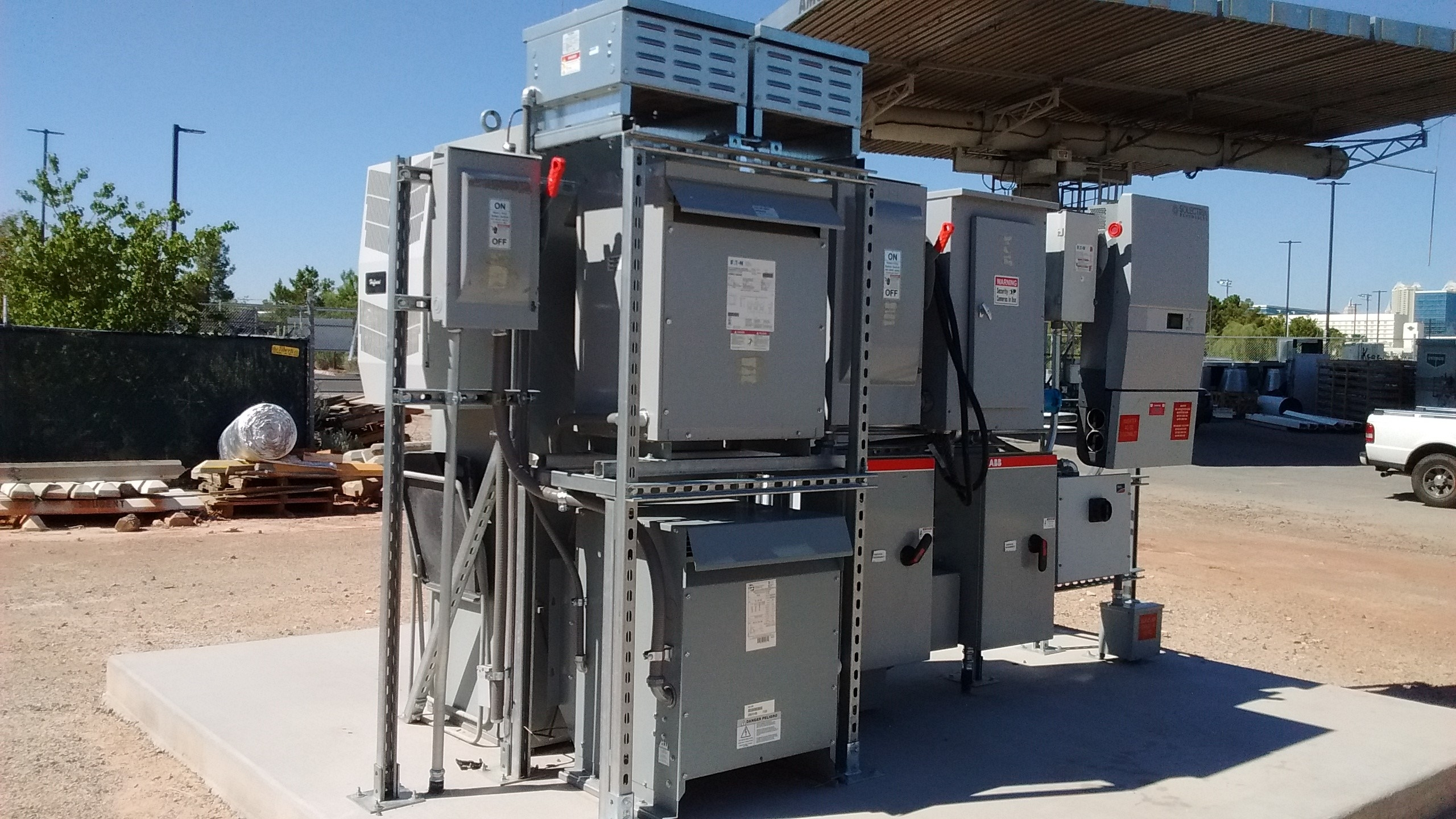 UNLV Microgrid front view