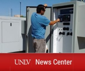 UNLV News Center Yahia Baghzouz Mighty Microgrids