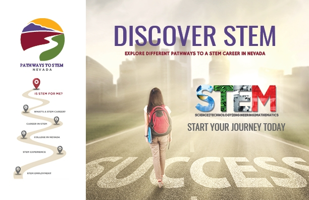 Homepage for the Pathways to STEM site.