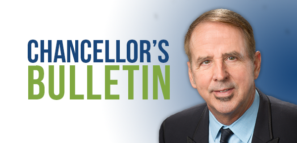 Chancellor's Bulletin, with Chancellor Thom Reilly