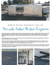 Nevada Solar-Water Express