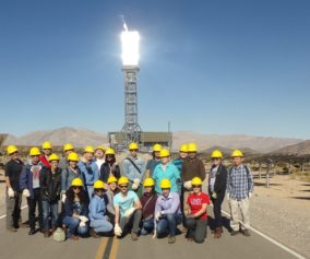 Solar Nexus Visits Ivanpah Solar Power Facility