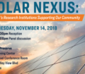 Solar Nexus: Nevada's Research Institutions supporting our community