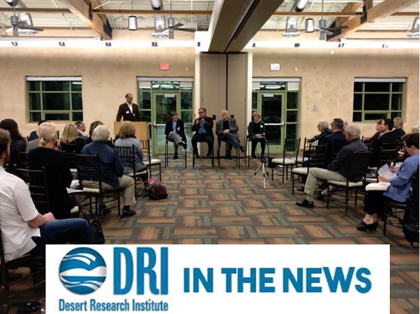 DRI in the news Nevada Solar NEXUS project